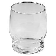 Bicchiere trasparente per modello d'appoggio senza colore