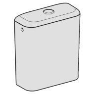 Cassetta iCon Square bianco