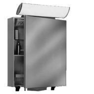 Spiegelschrank Careline FLS/HP 60/FL S D weiss