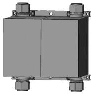 "Wasserzähler Unicount Koax Box 2"" UP chromeline"