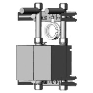 "Wasserzähler Unicount Koax GIS 2"" UP chromeline"