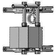 "Wasserzähler Unicount Koax Duofix 2"" UP chromeline"